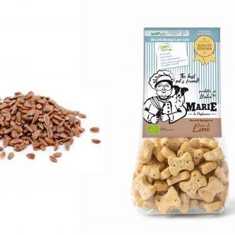 Biscotti Biologici Marie Semi di Lino